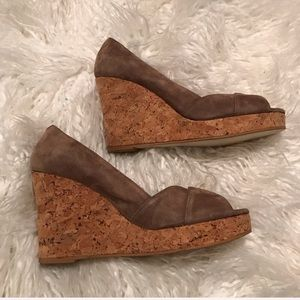Boden Cork Wedges